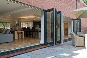 Aluminium Bi-Fold doors Southampton